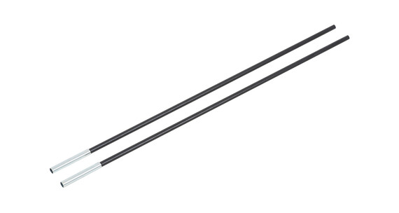 CAMPZ Fiberglass Rod with Sleeve 8mm/0,55m 2-pack